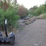 הסגווי בשטח פארק הירדן